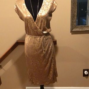 Sequin Michael kors wrap dress